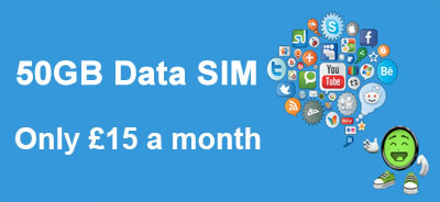 50GB Data SIM