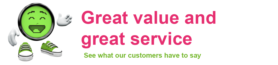 It is not just us who know we provide great value and great service.